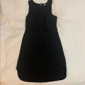LF black mini dress